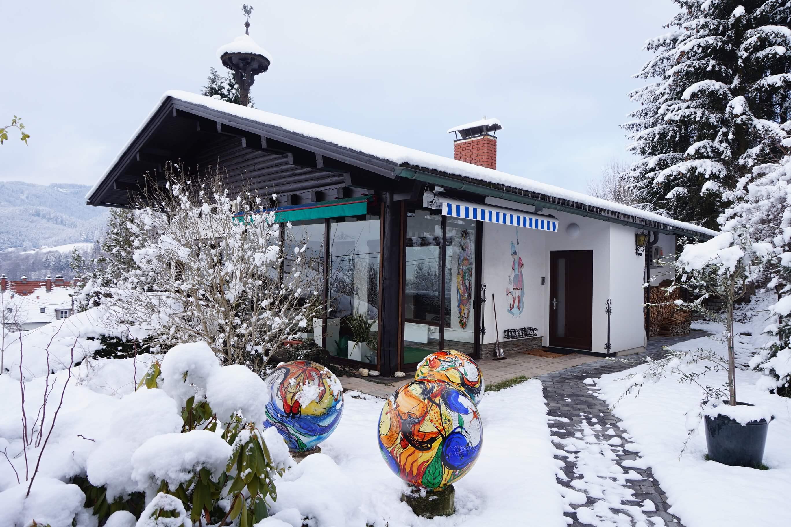 Kindbergdörfl: Wohnhaus in herrlicher Aussichtslage