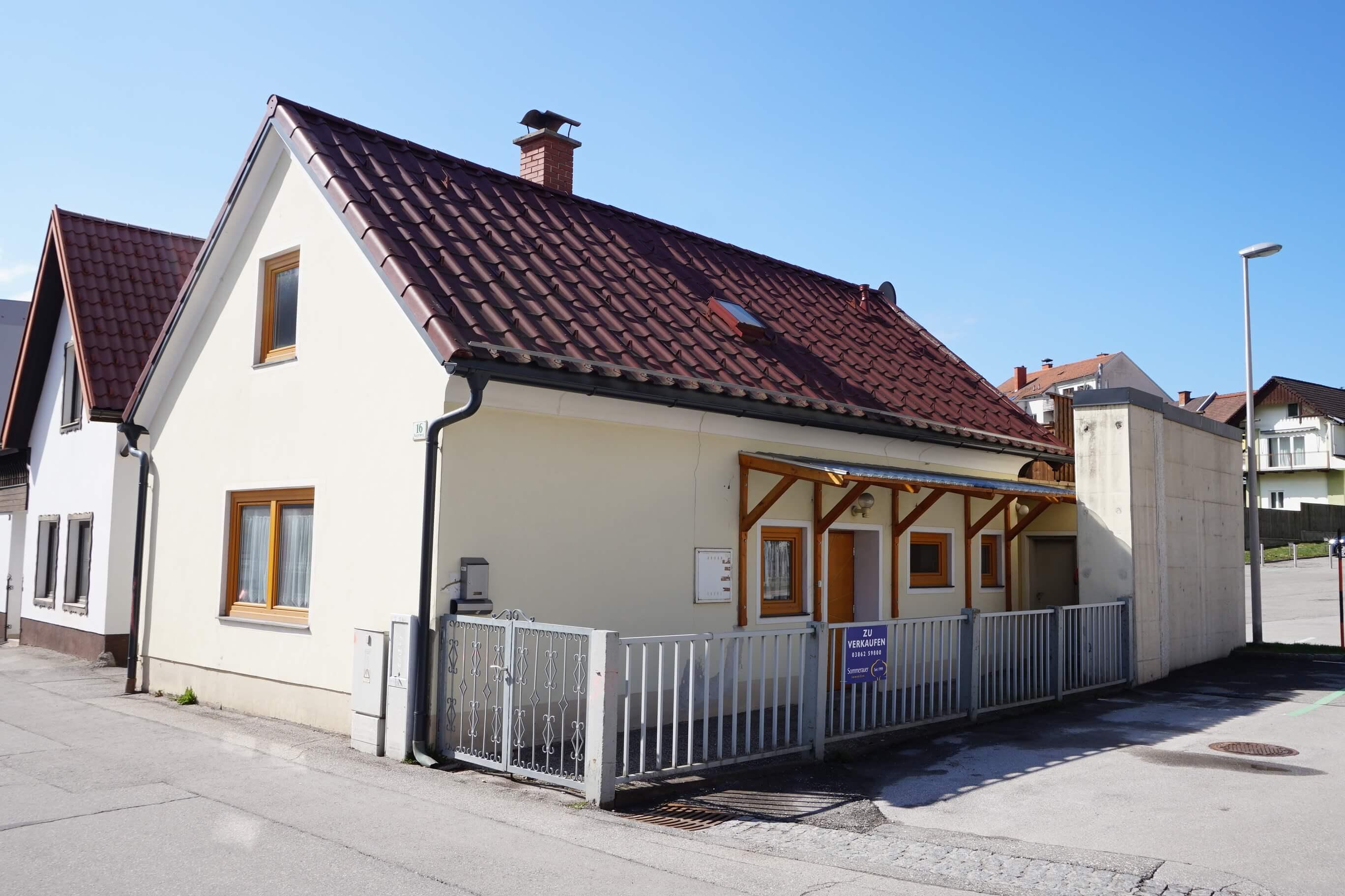Kindberg: Kleines Wohnhaus in zentraler Lage