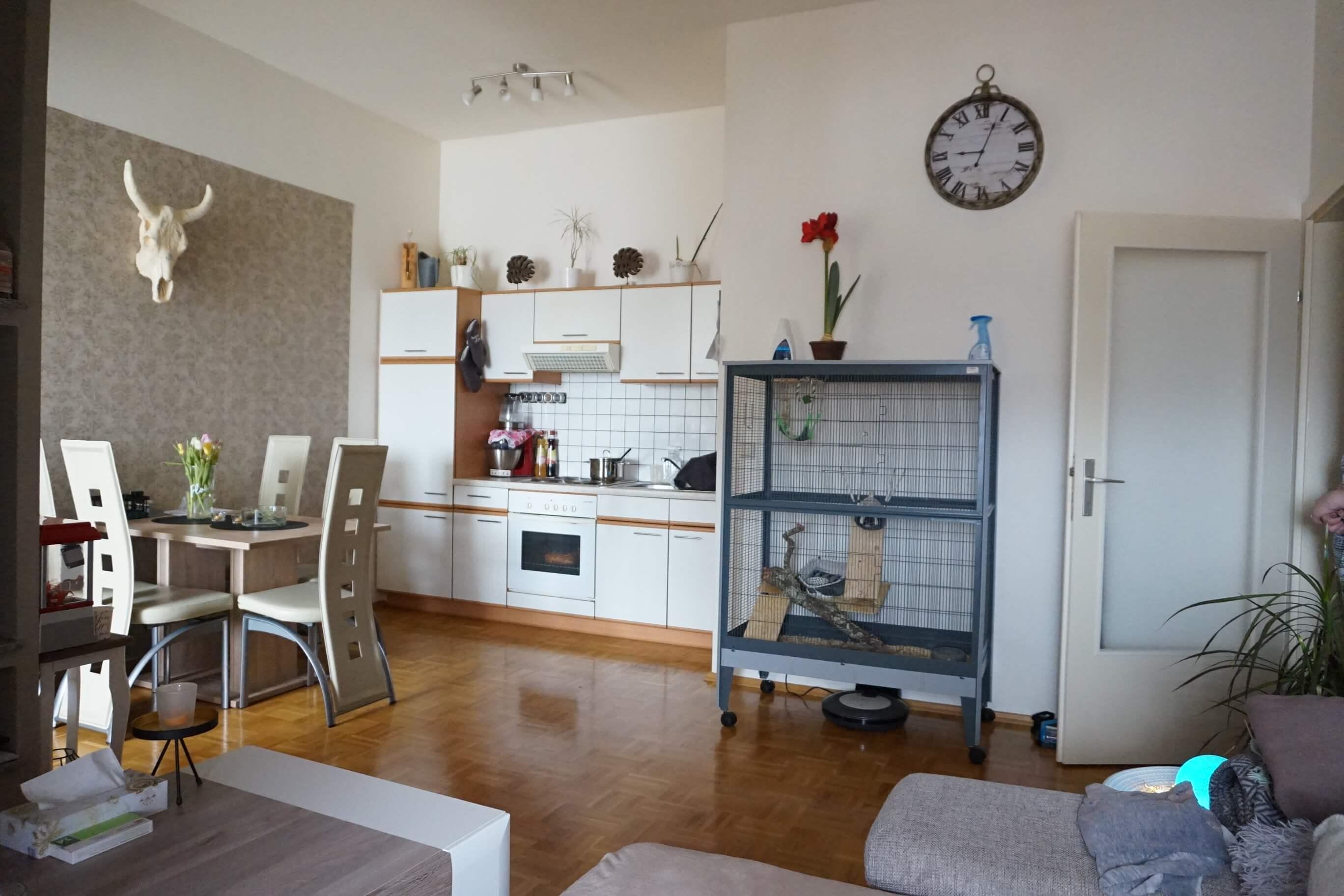 Kapfenberg/Hafendorf: Gepflegte 2-Zimmer Wohnung
