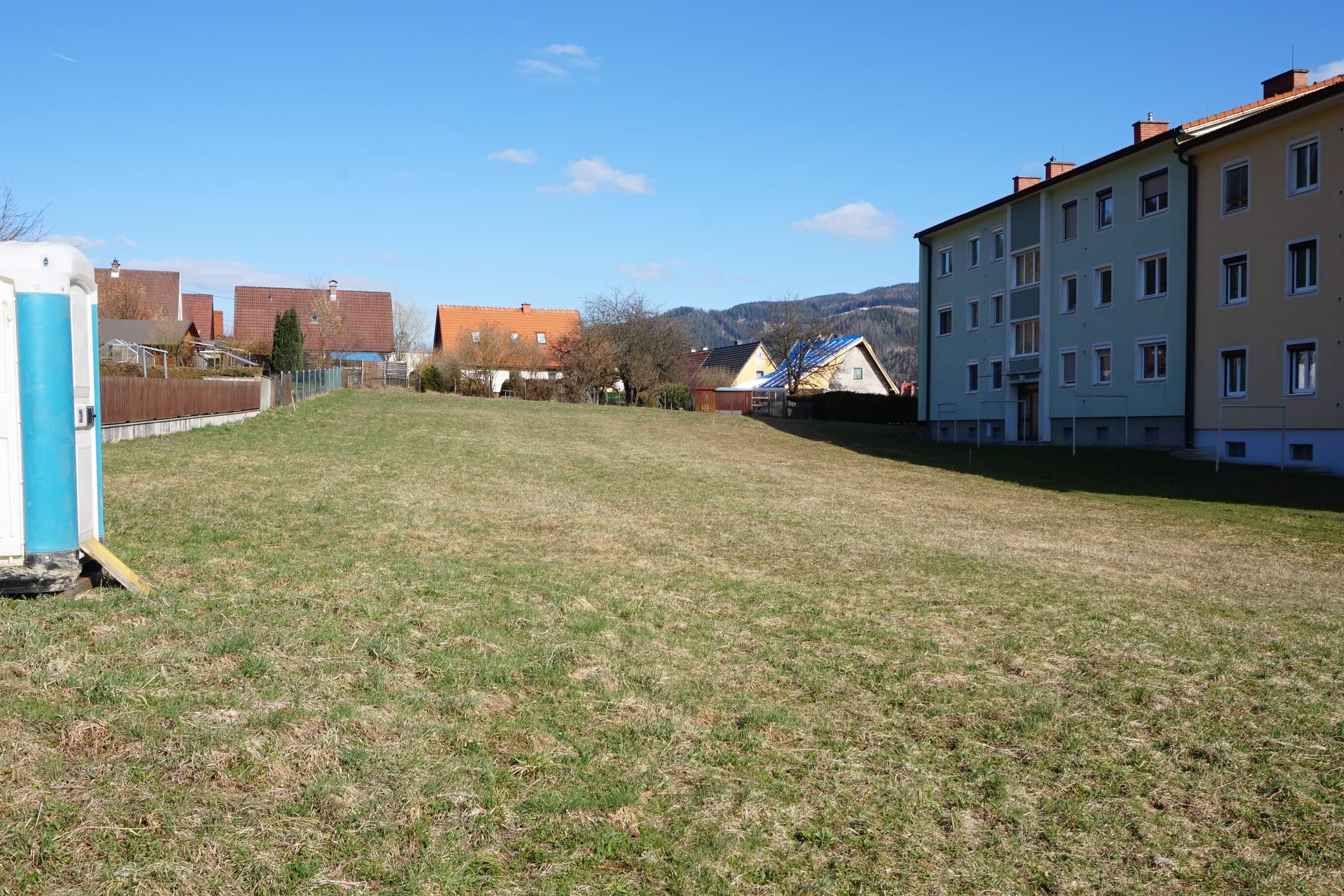 Kindberg/Herzogberg: Baugrund inmitten einer Wohnsiedlung