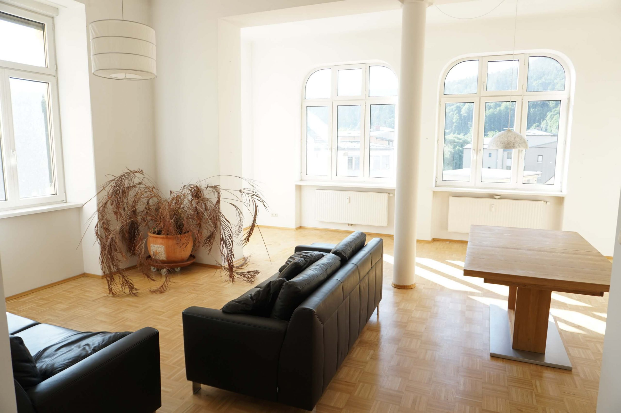 Bruck/Mur-Dr. Theodor Körner Straße: 3-Zimmer Altbauwohnung